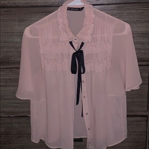 Lovely Zara Blouse
